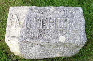 MITCHELL, MARY E (MOTHER) - Bremer County, Iowa | MARY E (MOTHER) MITCHELL