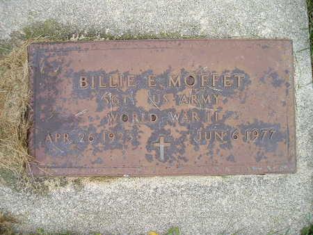 MOFFET, BILLIE E - Bremer County, Iowa | BILLIE E MOFFET