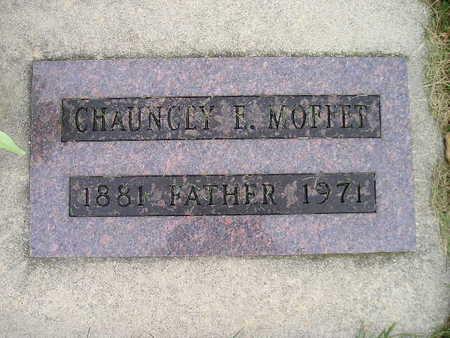 MOFFET, CHAUNCEY E - Bremer County, Iowa | CHAUNCEY E MOFFET