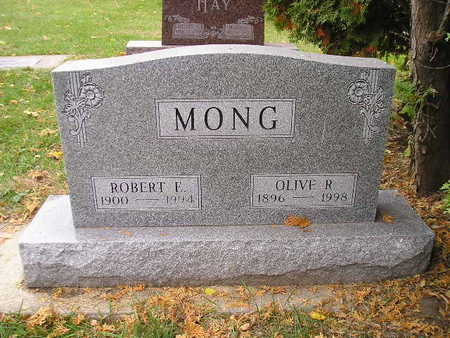 MONG, ROBERT E - Bremer County, Iowa | ROBERT E MONG