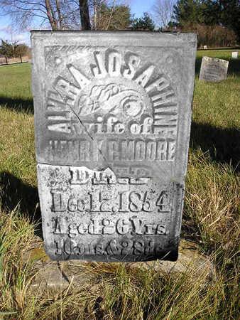 MOORE, ALVIRA JOSAPHINE - Bremer County, Iowa | ALVIRA JOSAPHINE MOORE