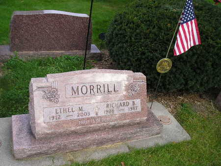 MORRILL, ETHEL M - Bremer County, Iowa | ETHEL M MORRILL