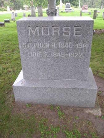 MORSE, STEPHEN H - Bremer County, Iowa | STEPHEN H MORSE