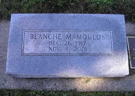 MOULDS, BLANCHE M - Bremer County, Iowa | BLANCHE M MOULDS