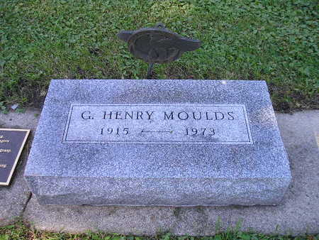 MOULDS, G HENRY - Bremer County, Iowa | G HENRY MOULDS