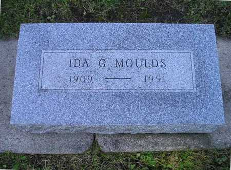 MOULDS, IDA G - Bremer County, Iowa | IDA G MOULDS