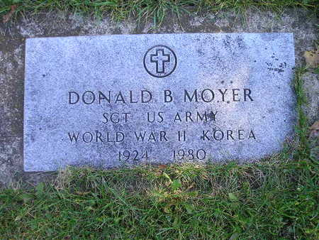 MOYER, DONALD B - Bremer County, Iowa | DONALD B MOYER