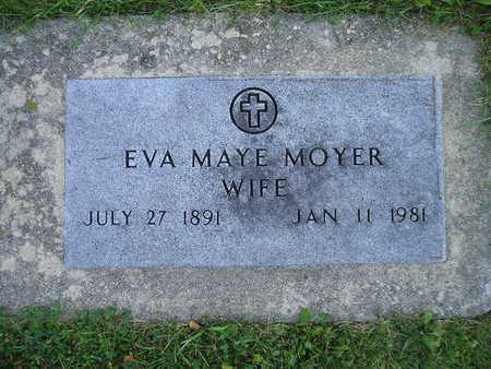 MOYER, EVA MAYE - Bremer County, Iowa | EVA MAYE MOYER