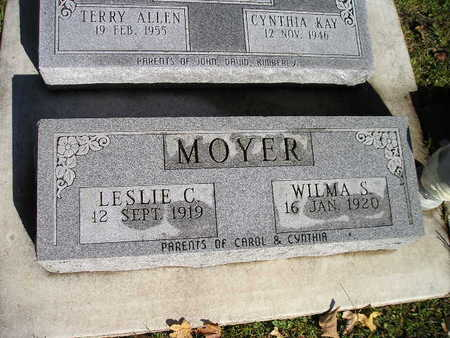 MOYER, WILMA S - Bremer County, Iowa | WILMA S MOYER
