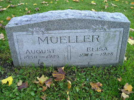 MUELLER, AUGUST - Bremer County, Iowa | AUGUST MUELLER