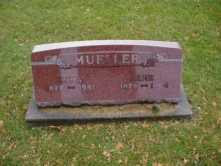 MUELLER, HENRY - Bremer County, Iowa | HENRY MUELLER