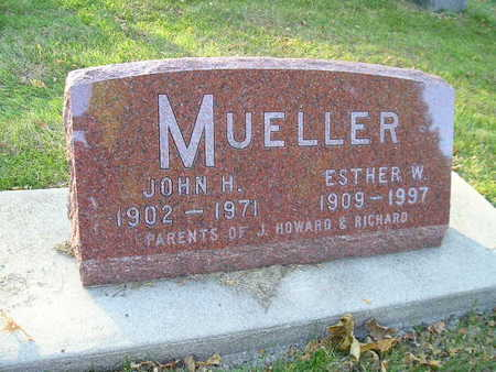 MUELLER, ESTHER W - Bremer County, Iowa | ESTHER W MUELLER