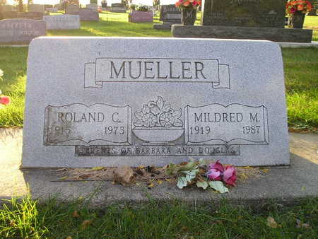 MUELLER, MILDRED M - Bremer County, Iowa | MILDRED M MUELLER