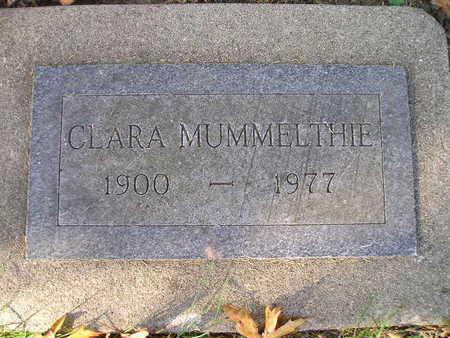 MUMMELTHIE, CLARA - Bremer County, Iowa | CLARA MUMMELTHIE