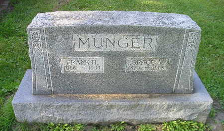 MUNGER, GRACE A - Bremer County, Iowa | GRACE A MUNGER