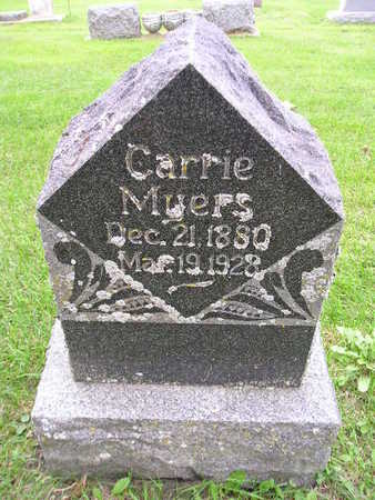 MYERS, CARRIE - Bremer County, Iowa | CARRIE MYERS