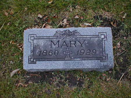 NEIBER, MARY - Bremer County, Iowa | MARY NEIBER