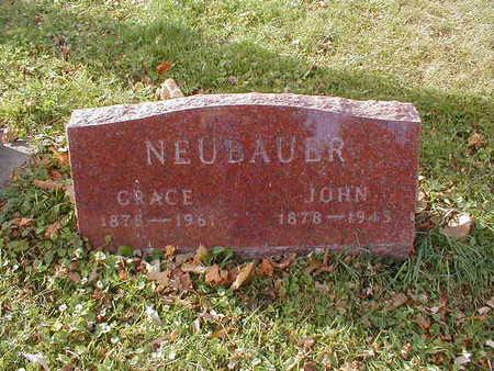 NEUBAUER, GRACE - Bremer County, Iowa | GRACE NEUBAUER
