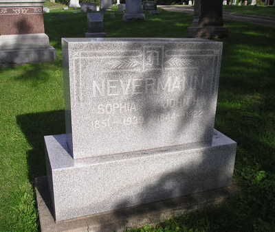 NEVERMANN, JOHN H - Bremer County, Iowa | JOHN H NEVERMANN