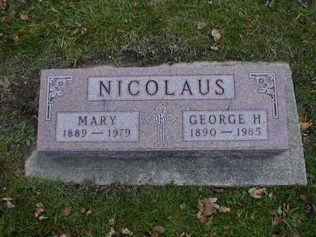 NICOLAUS, MARY - Bremer County, Iowa | MARY NICOLAUS