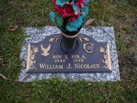 NICOLAUS, WILLIAM J - Bremer County, Iowa | WILLIAM J NICOLAUS