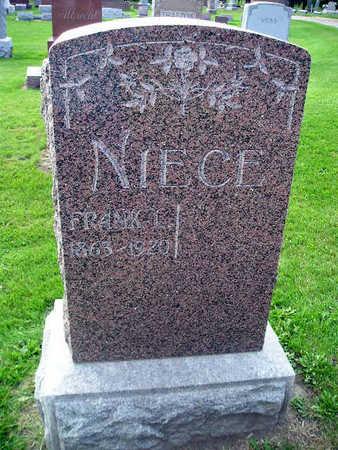NIECE, FRANK L - Bremer County, Iowa | FRANK L NIECE