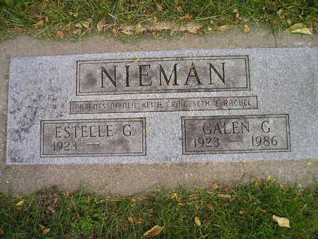NIEMAN, ESTELLE G - Bremer County, Iowa | ESTELLE G NIEMAN