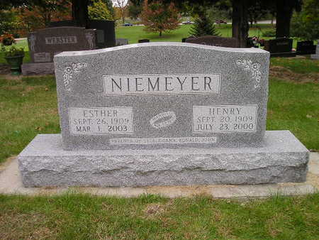 NIEMEYER, ESTHER - Bremer County, Iowa | ESTHER NIEMEYER
