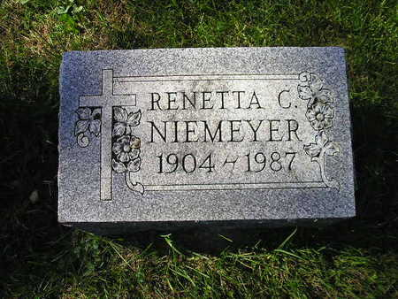 NIEMEYER, RENETTA C - Bremer County, Iowa | RENETTA C NIEMEYER