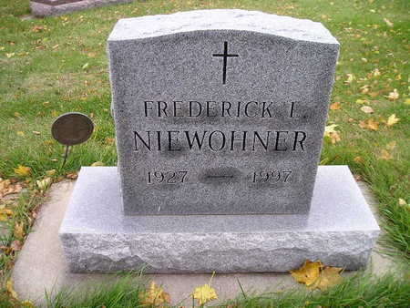 NIEWOHNER, FREDERICK L - Bremer County, Iowa | FREDERICK L NIEWOHNER