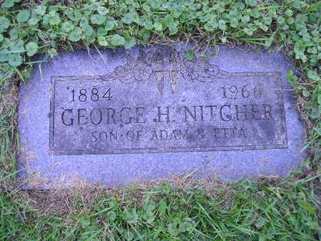 NITGHER, GEORGE H - Bremer County, Iowa | GEORGE H NITGHER