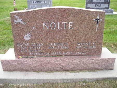 NOLTE, WAYNE E - Bremer County, Iowa | WAYNE E NOLTE