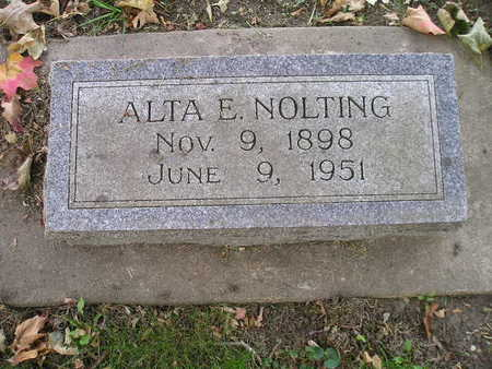 NOLTING, ALTA E - Bremer County, Iowa | ALTA E NOLTING
