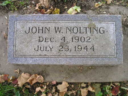NOLTING, JOHN W - Bremer County, Iowa | JOHN W NOLTING