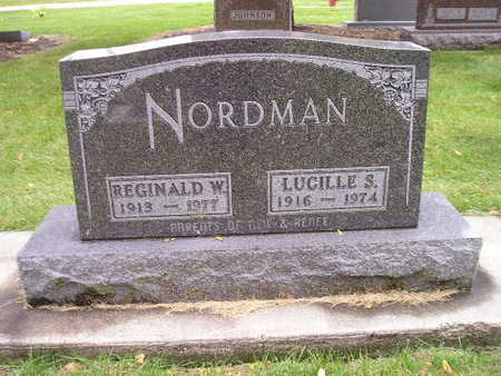 NORDMAN, REGINALD W - Bremer County, Iowa | REGINALD W NORDMAN