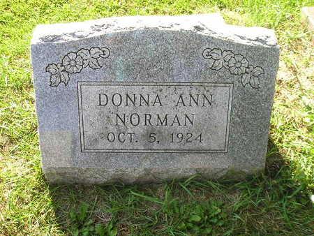 NORMAN, DONNA ANN - Bremer County, Iowa | DONNA ANN NORMAN