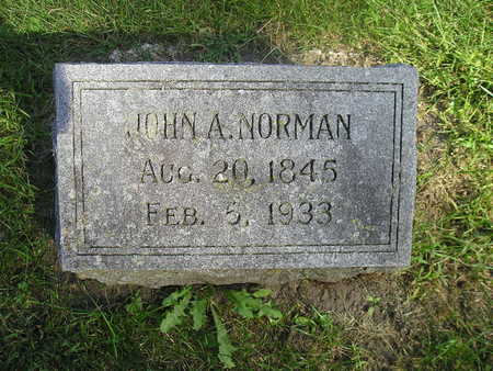 NORMAN, JOHN A - Bremer County, Iowa | JOHN A NORMAN