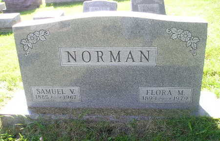 NORMAN, FLORA M - Bremer County, Iowa | FLORA M NORMAN