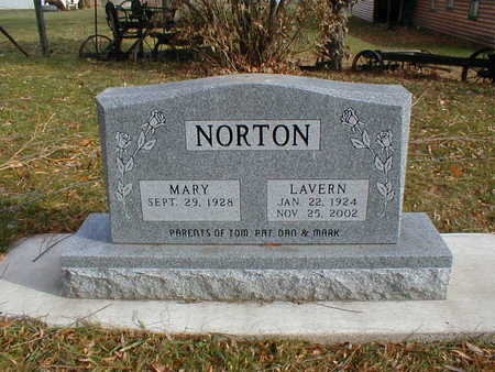NORTON, MARY - Bremer County, Iowa | MARY NORTON