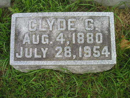 NOTTGER, CLYDE C - Bremer County, Iowa | CLYDE C NOTTGER