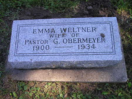 OBERMEYER, EMMA - Bremer County, Iowa | EMMA OBERMEYER