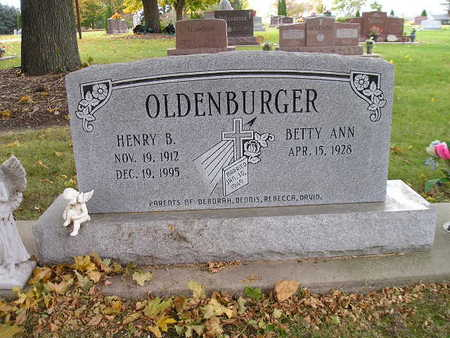 OLDENBURGER, HENRY B - Bremer County, Iowa | HENRY B OLDENBURGER