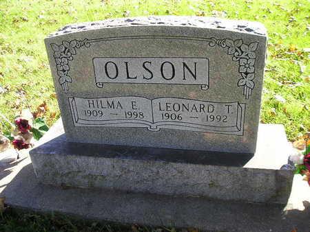 OLSON, HILMA E - Bremer County, Iowa | HILMA E OLSON