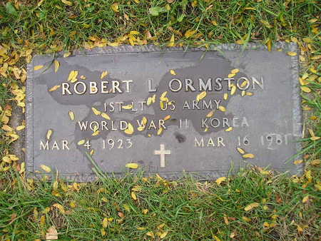 ORMSTON, ROBERT L - Bremer County, Iowa | ROBERT L ORMSTON