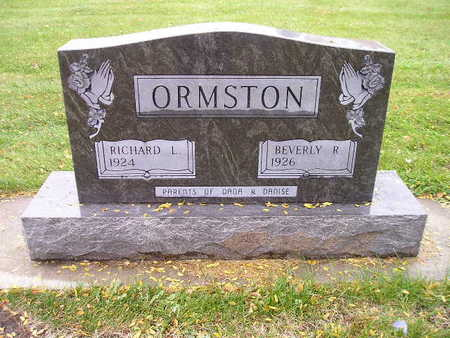 ORMSTON, RICHARD L - Bremer County, Iowa | RICHARD L ORMSTON