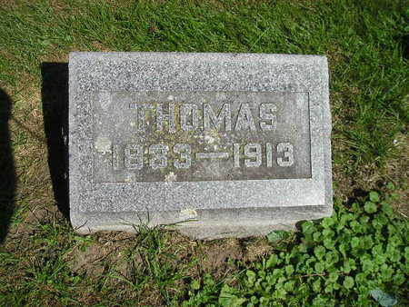 ORMSTON, THOMAS - Bremer County, Iowa   THOMAS ORMSTON