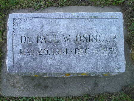 OSINCUP, PAUL W - Bremer County, Iowa | PAUL W OSINCUP