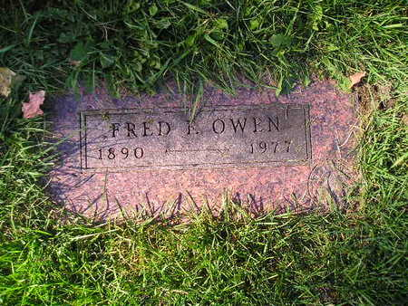 OWEN, FRED - Bremer County, Iowa | FRED OWEN
