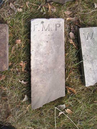 PALMITER, F M (FRANCES M) - Bremer County, Iowa | F M (FRANCES M) PALMITER