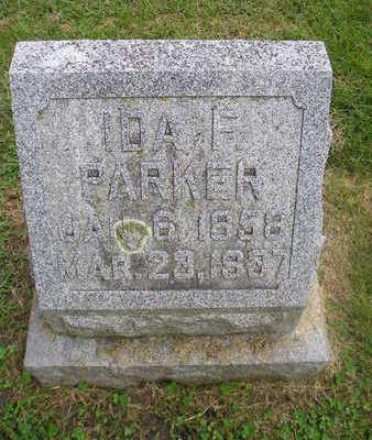 PARKER, IDA F. - Bremer County, Iowa | IDA F. PARKER
